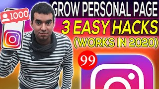 How To Grow Personal Instagram Account In 2020 | Follow Unfollow Twist For Personal Accounts