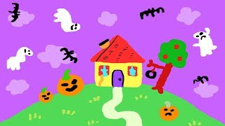 Haunted Blues Clues House Halloween Spooky Animated Doodle