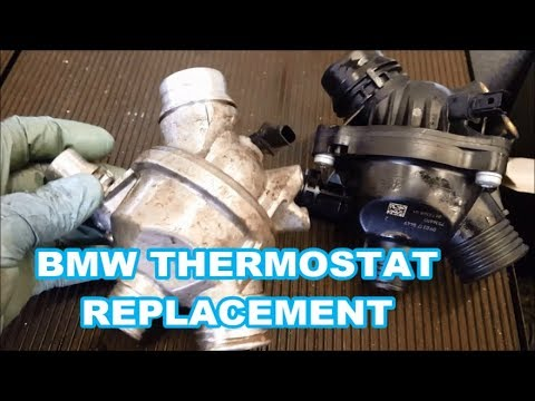 2006-2013 BMW 335i Thermostat Replacement P0128 3.0L OVERVIEW/TIPS only N54 N55 engine 3 5 series