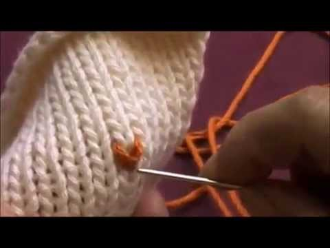 HOW TO LEARN TO KNIT FAST AND EASY LETTERS OR IMAGES ON PROJECTS
