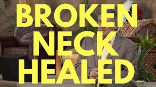 ✅ Healed Of Broken Neck And Nerve Damage - Now Walking Again - Healed by God - #Miracle - Mel Bond
