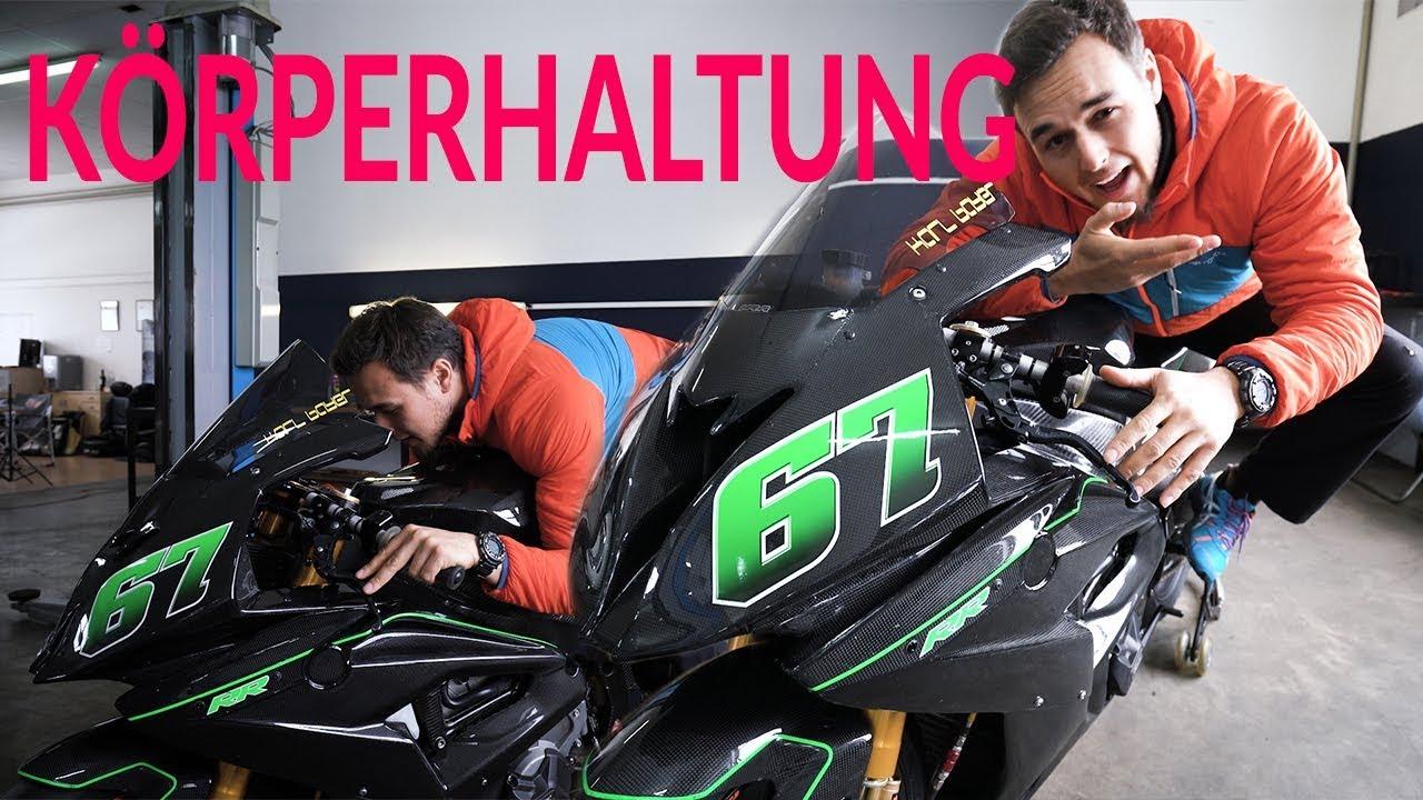 Körperhaltung Motorrad - Hang-off - Matthias Meindl