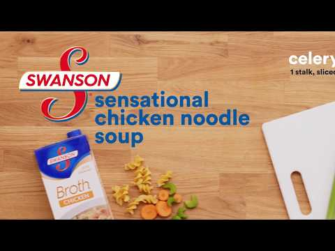 How to make chicken noodle soup with swanson broth