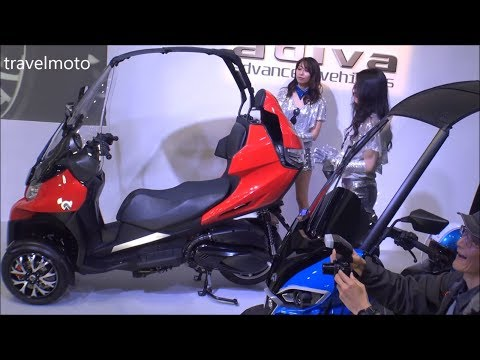 Adiva scooters 2018 - tall rider 190cm (6,2 ft)
