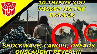 Transformers The Last Knight Trailer 10 Things you Missed And Theories