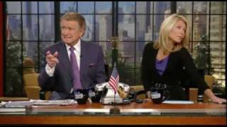 Regis & Kelly Banter About NBC