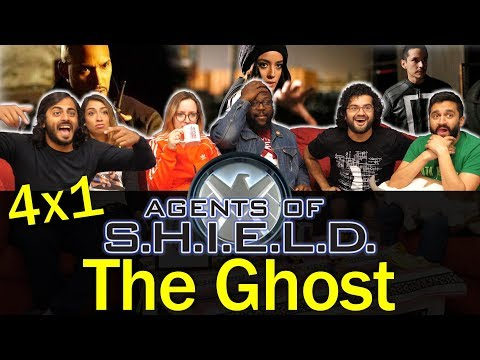 Agents Of Shield - 4x1 The Ghost - Group Reaction