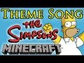 The Simpsons Theme Song - Minecraft Note Blocks ♫