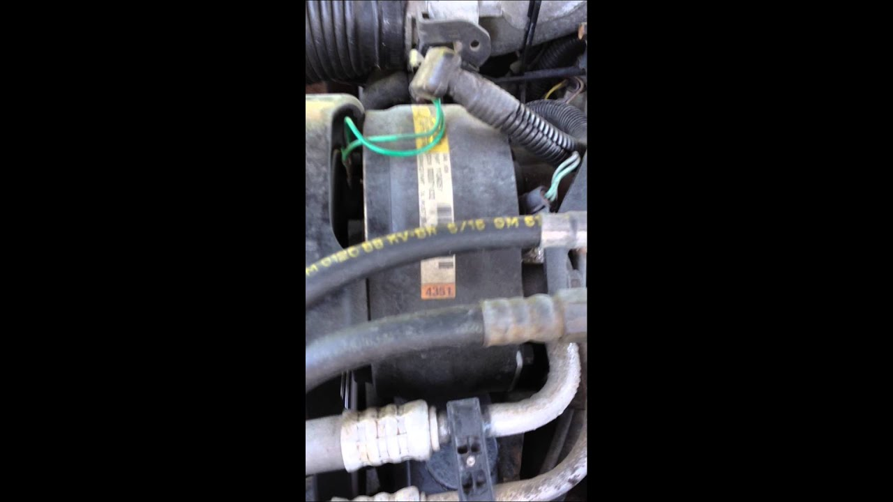 Camaro C Compressor Wiring Harness Switches 1988 Air Conditioning Noisy Youtube On Grounding