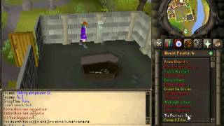 Runescape 2007 The Restless Ghost Quest Walkthrough