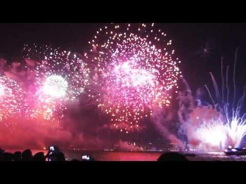 Turkey Republic Day 2013 - Firework Finale Istanbul