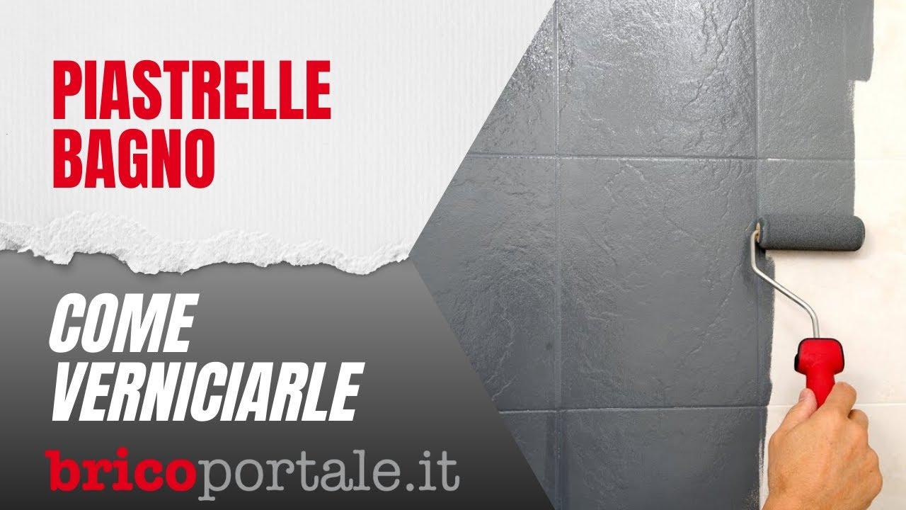 Piastrelle bagno verniciare e dipingere con facilit - Dipingere piastrelle bagno ...
