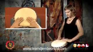 Good djembe technique