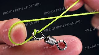 САМЫЙ ПРОЧНЫЙ рыболовный узел STRONGEST fishing knot