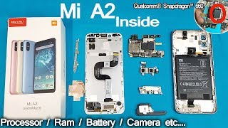 Xiaomi Mi A2 Disassembly | Mi A2 Teardown || How to open Mi A2 -all internal Parts of Mi A2