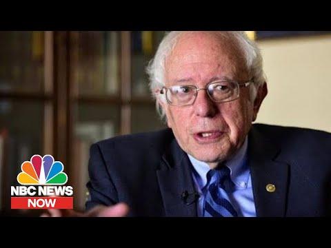 Sen. Bernie Sanders Surges In Iowa Despite Impeachment Trial Duties   NBC News NOW