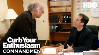 Curb Commandment: Respect Wood   Curb Your Enthusiasm (2017)   HBO