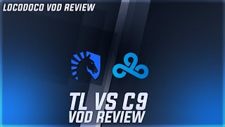 TL vs C9 -  Battle for TOP DOG of LCS - Week 7 LCS Locodoco [  VOD Review ]