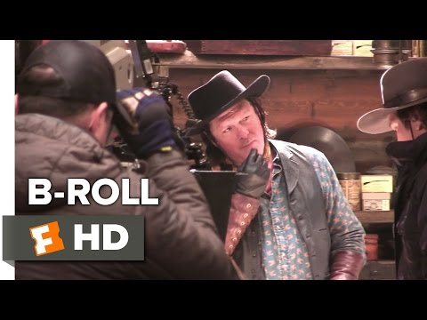The Hateful Eight B-ROLL 2 (2015) - Channing Tatum, Kurt Russell Western HD