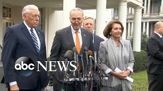 Democrats, Pence differ on shutdown-meeting details