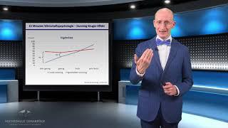 Wenn Inkompetenz zu Selbstsicherheit führt '15 Minuten Wirtschaftspsychologie' Prof. Kanning