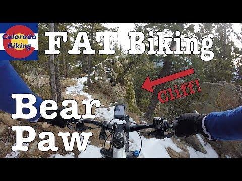 Fat Biking: Staunton State Park: Bear Paw (Dec 16, 2017)