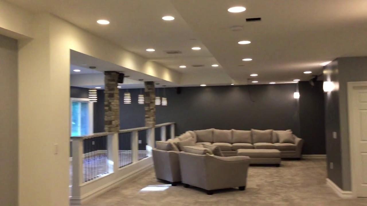 Complete Basement Finish: Kitchen/Bar, Bathroom, Entertainment Center, Play  Area, Storage Area