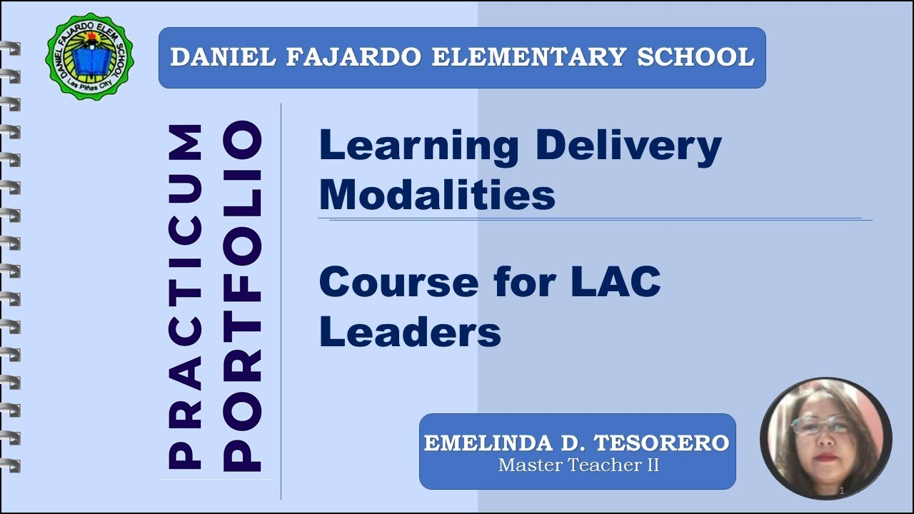 Download Practicum Portfolio for LAC Leaders with artifacts, annotation and reflected summary