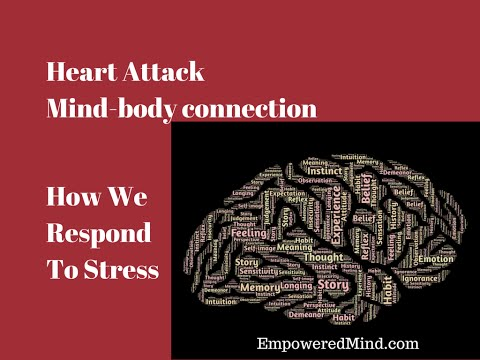 Heart Attack Mind-body connection, Stress Response