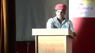 International wrestler Sushil Kumar talking About Spiritual leader Bhaiyyu Maharaj