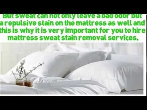 mattress sweat stain removal calgary