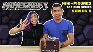 MINECRAFT Mini-Figure Obsidian Series 4