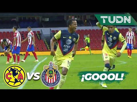 ¡ULTRA GOLAZO! ¡Golazo de Gio!   América 1-0 Chivas   Guard1anes 2020 Liga BBVA MX - J11   TUDN