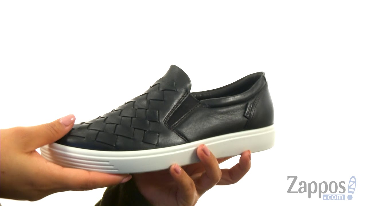 fb3a6c8a1a ECCO Soft 7 Woven Slip-On SKU: 8960803
