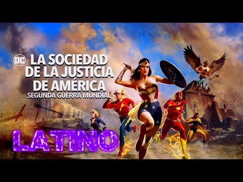 Sociedad de la Justicia de América: 2da Guerra Mundial (2021) Tráiler Oficial Doblado Español Latino