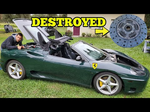 One $30 Part on my Ferrari FAILED and Destroyed Everything! It's now $6,000 to Repair.