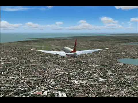 Air India 777-237LR Takeoff & Emergency Landing At Mumbai