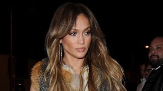 Jennifer Lopez Steps Out in Chic Vest for Another Night Out With Drake -- See the Pic!