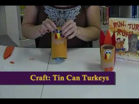 Crafty Creations 23 Tin Can Paper Cup Turkey Crafts Youtube
