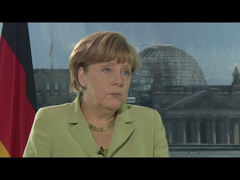 Exclusive: Angela Merkel interview - YouTube