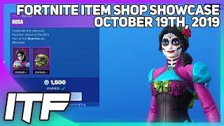 Fortnite Item Shop *RARE* MUERTOS SET IS BACK! [October 19th, 2019] (Fortnite Battle Royale)
