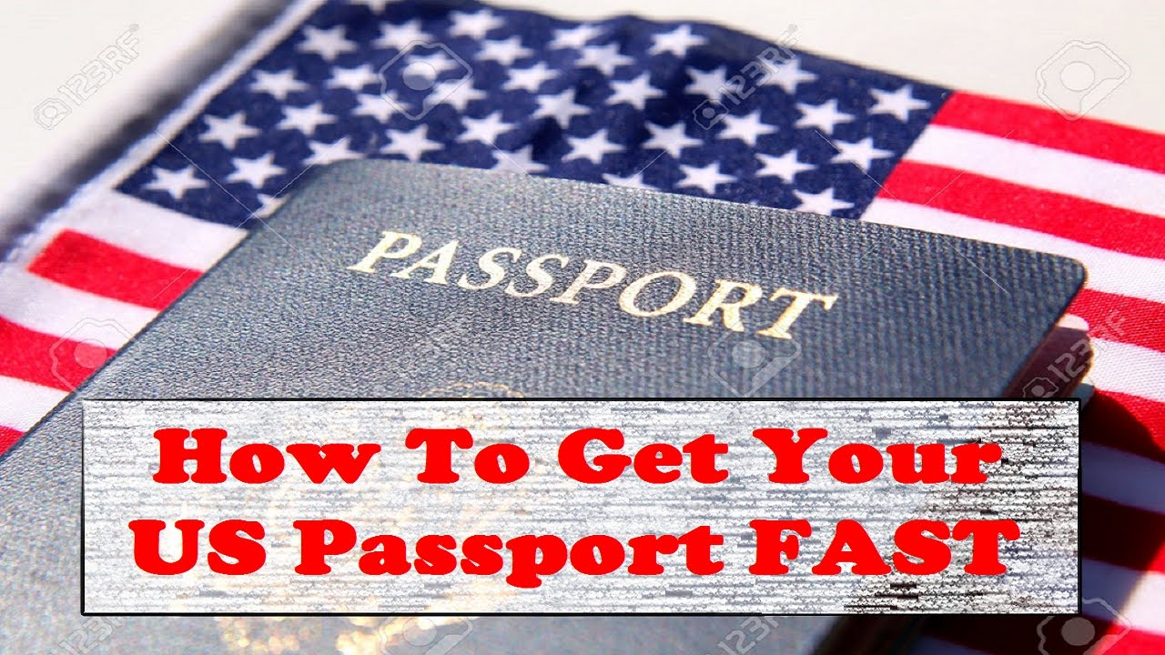 How to get your us passport fast youtube how to get your us passport fast ccuart Image collections