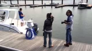 先日ヤマハマリーナ浜名湖で YAMAHAラグビーファンクラブ会報誌の撮影を...