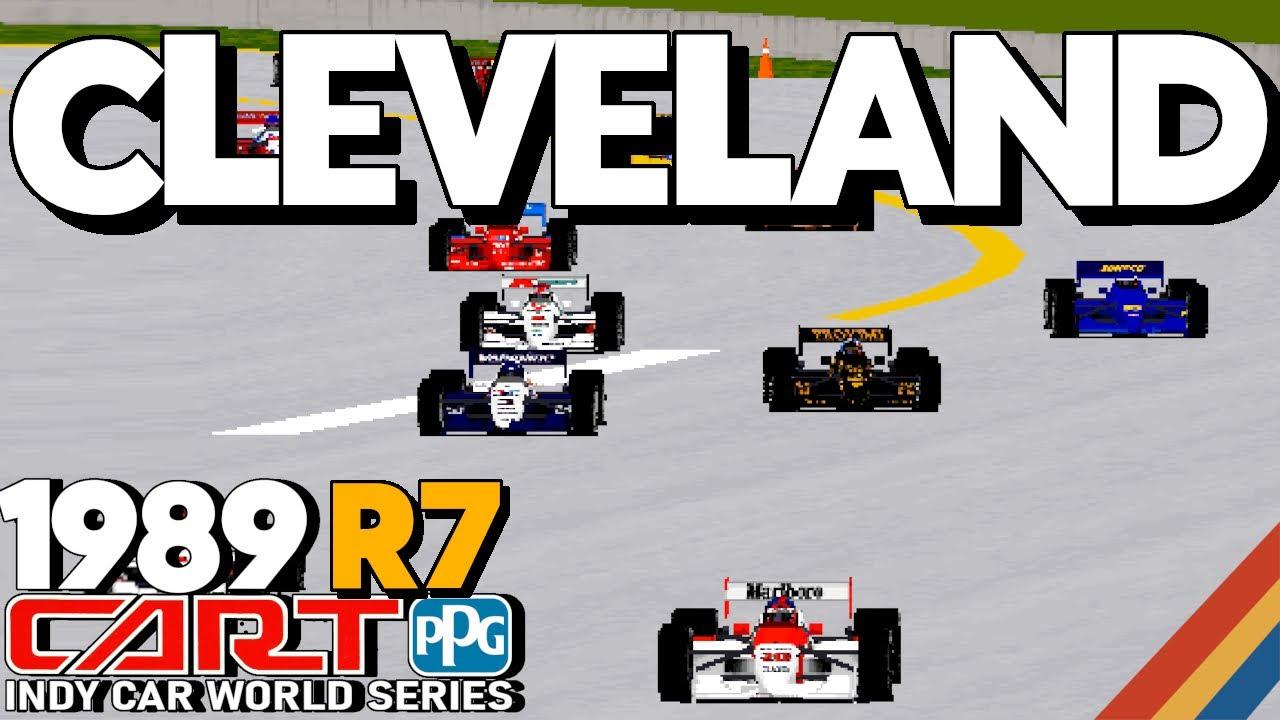 Cleveland Grand Prix - Full Race - 1989 CART Round 7 - Indycar Racing II