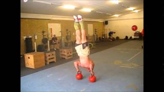 handstand pushups   chris gregersen