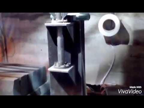 Производство бордюра дорожного (расформовка)