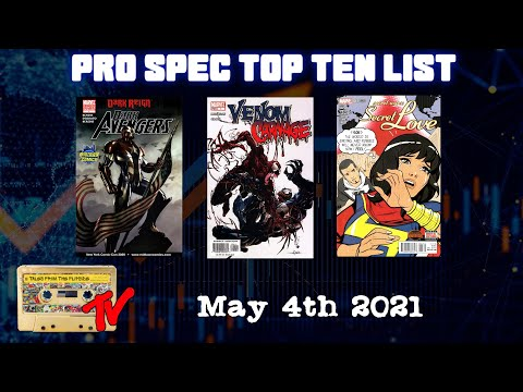 Top Ten Pro Spec List May 4th 2021 | Modern Comic Book Speculation