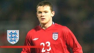 Wayne Rooney's England debut (2003)   From The Archive