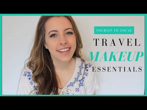 Packing Tips | MY TRAVEL MAKEUP ESSENTIALS!