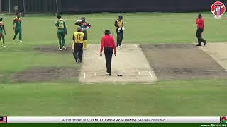 Malaysia T20i Bilateral Series 2019  Malaysia vs Vanuatu Match 2